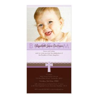 PHOTO BAPTISM INVITATIONS :: pure 1