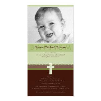 PHOTO BAPTISM INVITATIONS :: pure 6