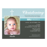 PHOTO BAPTISM INVITE :: peace 5 L