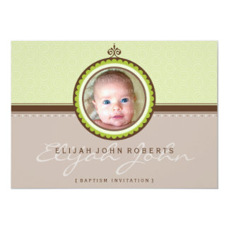 PHOTO BAPTISM INVITES :: fanciful 1L