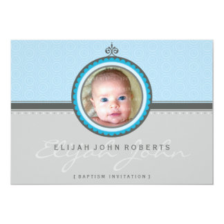 PHOTO BAPTISM INVITES :: fanciful 4L