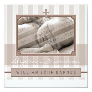 PHOTO BAPTISM INVITES :: stylishly 1SQ
