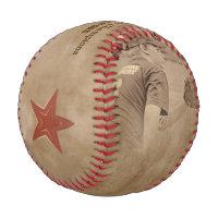 Photo Baseball Sepia Toning - Dirty Beige - STARS