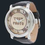 """PHOTO Baseball Watches for Men and Boys<br><div class=""""desc"""">Personalized PHOTO Baseball Watches available in many Styles for Men and Boys. Unique Baseball Gifts for Players, Baseball Fans and Coaches. Add YOUR Baseball Picture or Call Rod or Linda to ADD Your Photo for you. See Instructions below or just call us HERE: 239-949-9090 A square photo will work best...</div>"""