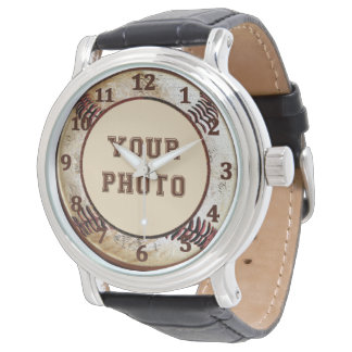 PHOTO Baseball Watches for Men and Boys