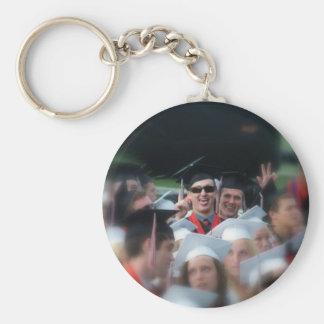 Photo Basic Round Button Keychain