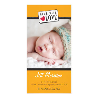 PHOTO BIRTH ANNOUNCEMENT :: made with love 2