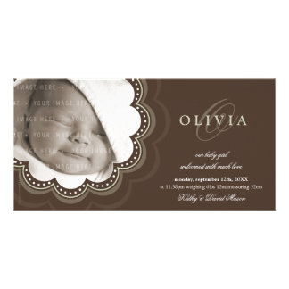 PHOTO BIRTH ANNOUNCEMENTS :: sweet bloom 5L