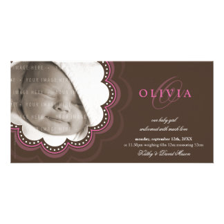 PHOTO BIRTH ANNOUNCEMENTS :: sweet bloom 7L