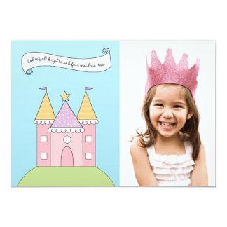 Photo Birthday Party Invitation   Pink Princess