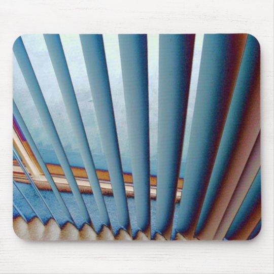 photo blue mouse pad