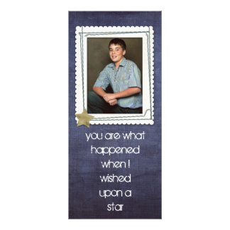 photo bookmarks for you and the kids custom rack card
