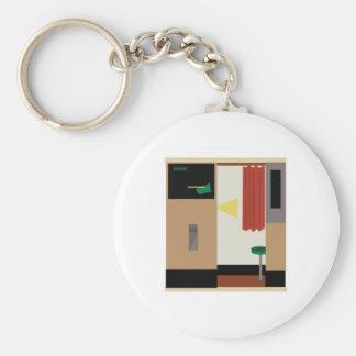 Photo Booth Basic Round Button Keychain
