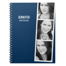 Photo Booth Personalized Notebook