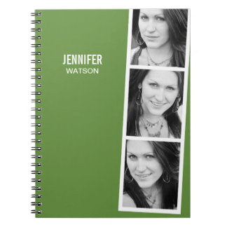 Photo Booth Personalized Notebook Notebook