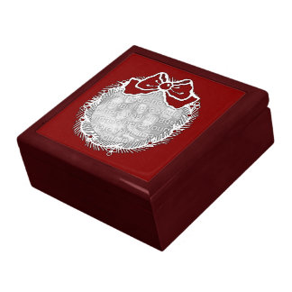 Photo Box - Holiday Wreath Jewelry Boxes