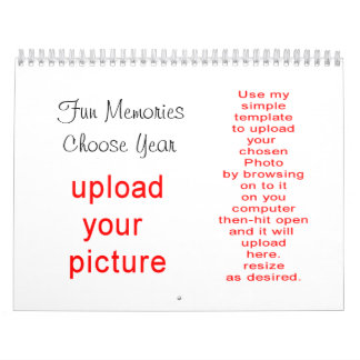 Photo Calendar do-it-yoursef- upload your pictures