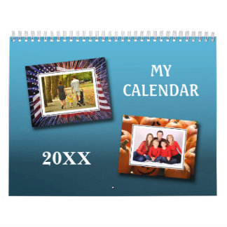 Photo Calendar Seasonal background photos