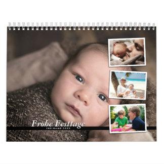 Photo calendars arrange - family calendars 2018