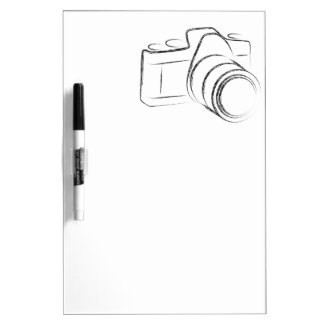 Photo Camera Dry-Erase Board