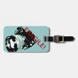 Photo camera equipment travel tag tag for luggage