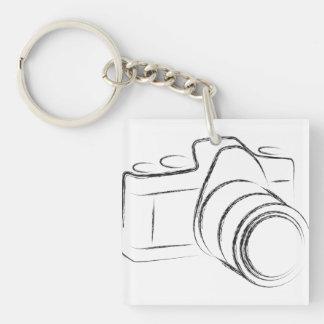 Photo Camera Keychain