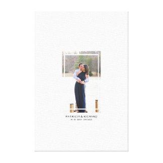 Photo Canvas Alternative Wedding Guest Book