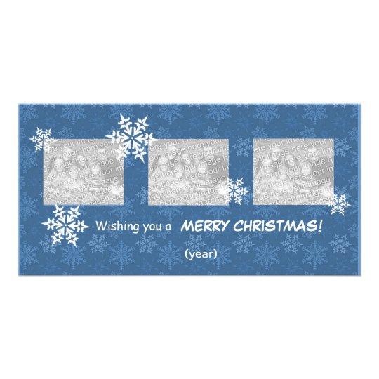 Photo Card - 3 Photos Christmas Template