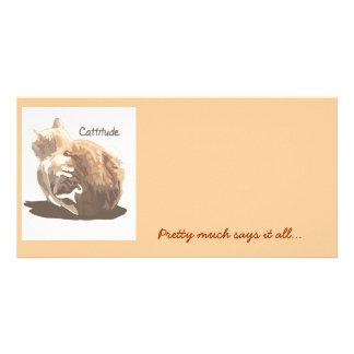 Photo Card- Cattitude Card