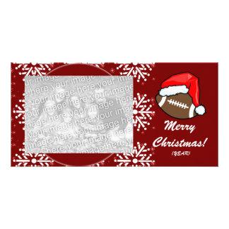 Photo Card - Christmas Football