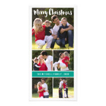 Photo Card Collage Christmas Card