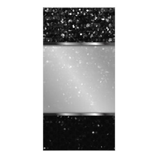Photo Card Crystal Bling Strass