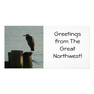 Photo Card:  Great Blue Heron