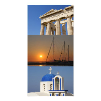 Photo Card- Greece