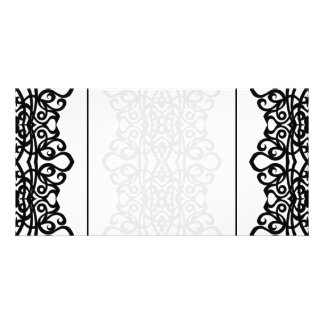 Photo Card Lace Embroidery Design
