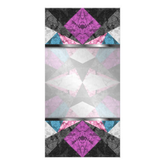 Photo Card Marble Geometric Background G438
