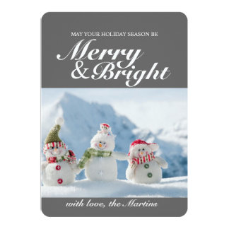 Photo Card | Merry & Bright