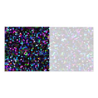 Photo Card Mosaic Texture