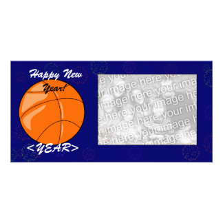Photo Card - New Year Basketball