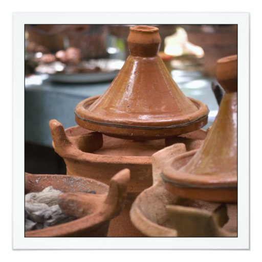 Photo Card of Moroccan Tagines