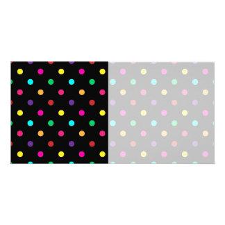 Photo Card Polka Dot