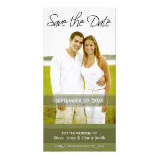 Photo Card: Save the Date - Minimalistic Card