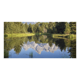 Photo Card - Tetons Reflection
