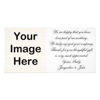 Photo Card ~ Thank You Wedding