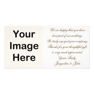 Photo Card ~ Wedding Thank You