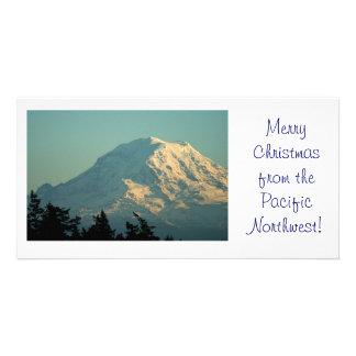Photo Card: Winter Mt. Rainier