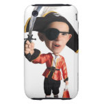 photo caricature of a caucasian boy in his tough iPhone 3 covers
