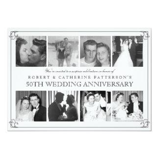 Photo Celebration 50th Wedding Anniversary Card