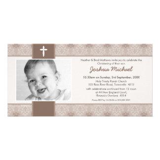 PHOTO CHRISTENING INVITATIONS :: pretty 4L