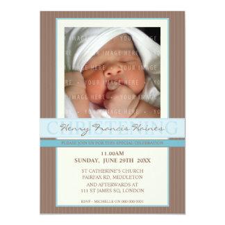 PHOTO CHRISTENING INVITES :: elegance 1
